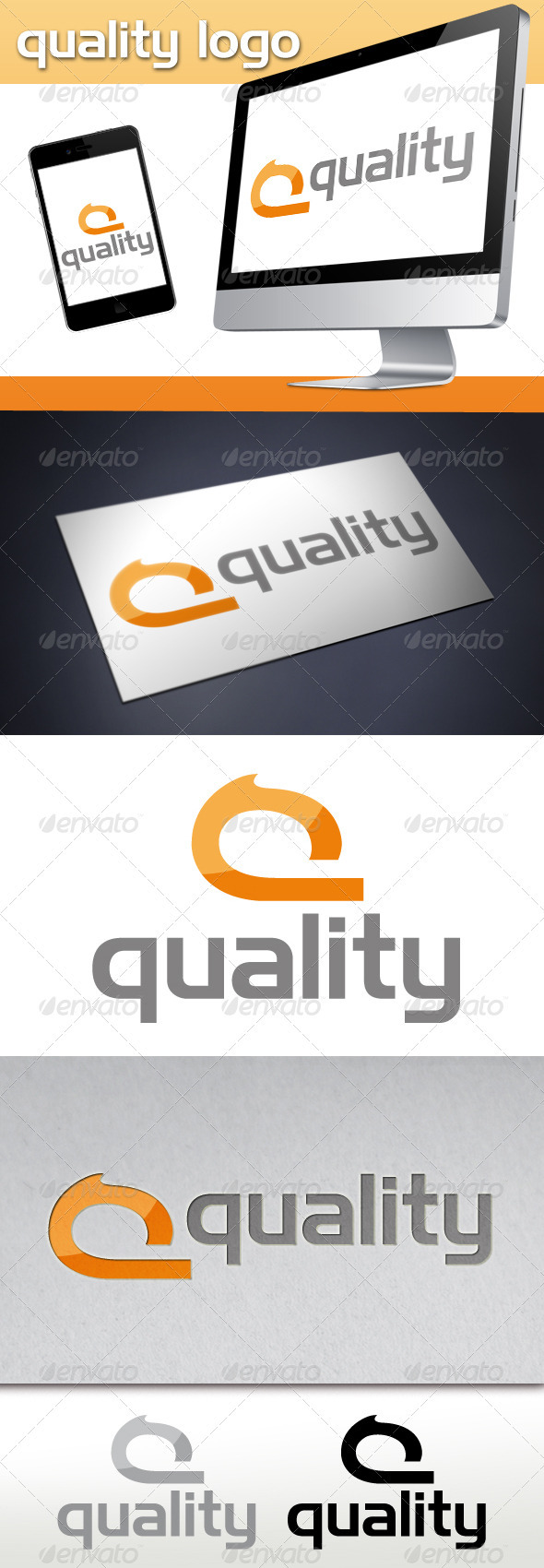 Quality Q Letter Logo - Letters Logo Templates