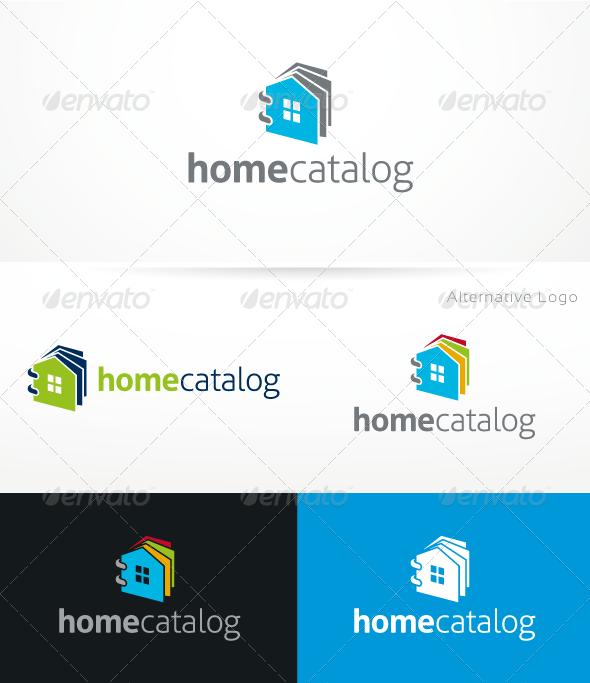 HomeCatalog V.2 - Buildings Logo Templates