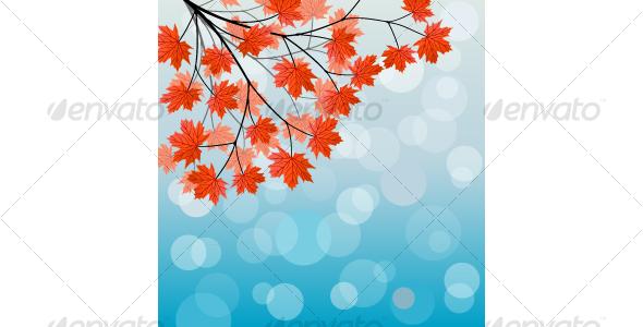 Autumn background - Backgrounds Decorative