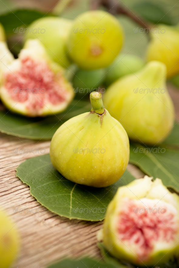Fresh figs - Stock Photo - Images
