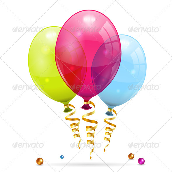 Birthday Balloons - Birthdays Seasons/Holidays