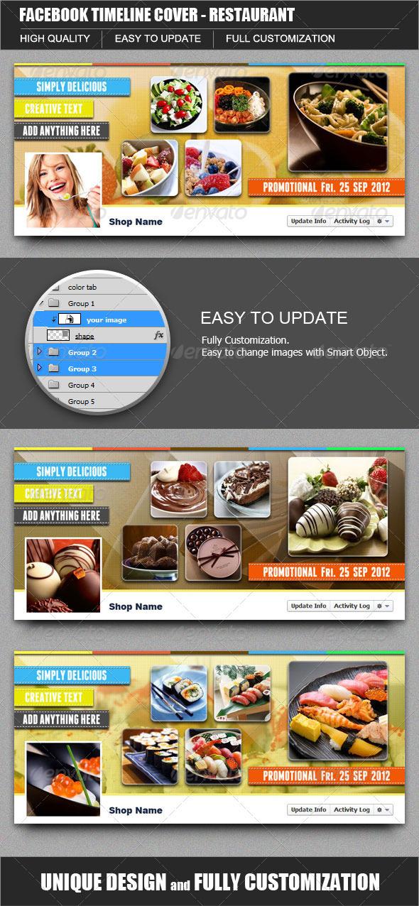 FB Timeline Cover Restaurant - Facebook Timeline Covers Social Media