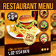 Restaurant Menu Flyer - GraphicRiver Item for Sale