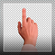 Gestures Of Hands For Touch Screen And Paper - VideoHive Item for Sale