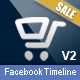 FB Timeline Cover E-Commerce V2 - GraphicRiver Item for Sale