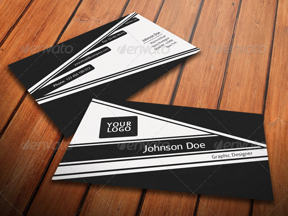 Simple Fresh Business Card - Corporate Business Cards