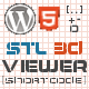 WordPress STL 3D Viewer Shortcode - CodeCanyon Item for Sale