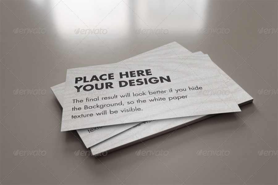 Flyer/Business Card Clean Realistic Mock-up Set 2 by Giallo ...