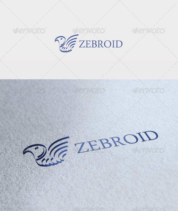 Zebroid Logo - Animals Logo Templates