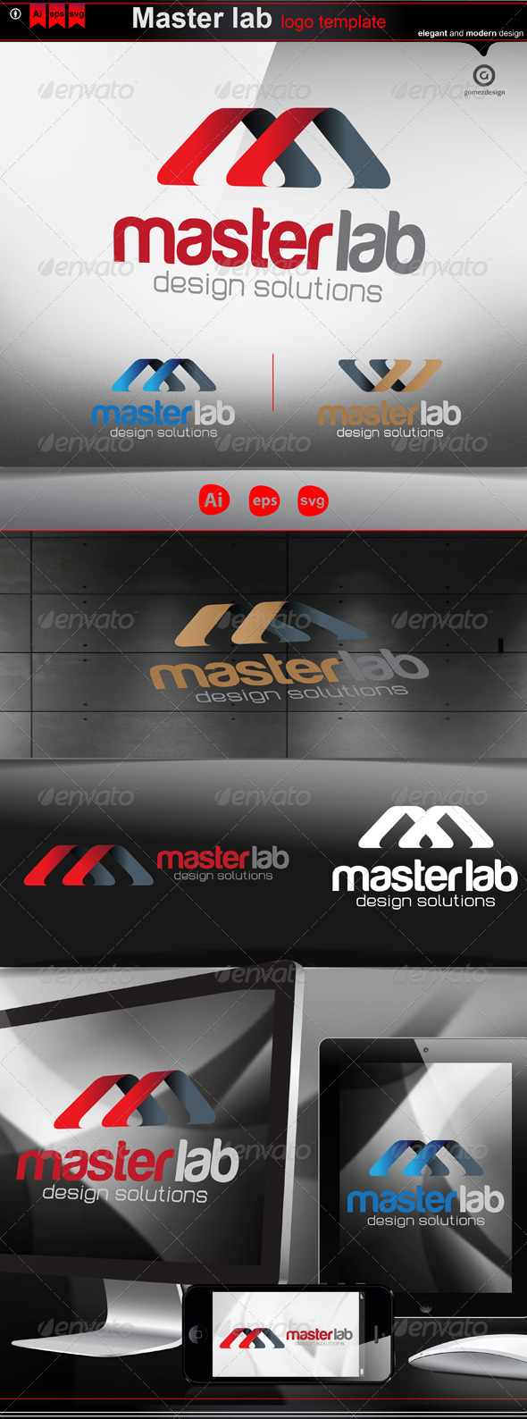 Master lab - Logo Templates