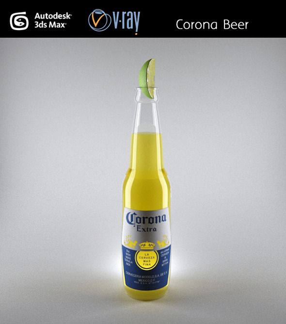 Corona Beer - 3DOcean Item for Sale