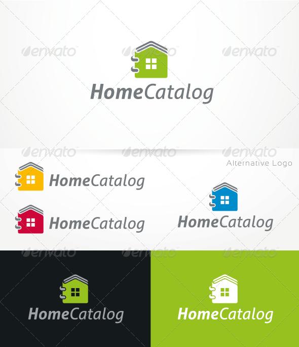 HomeCatalog V.1 - Logo Template - Buildings Logo Templates