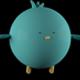 Cartoon Blue Bird  - VideoHive Item for Sale
