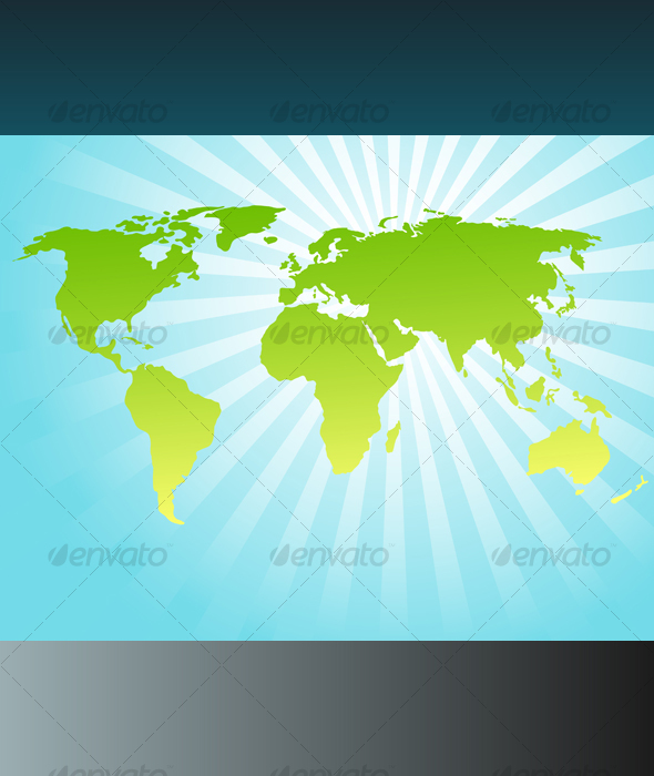 Background with world map - Backgrounds Decorative