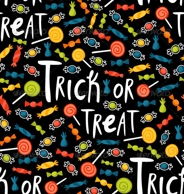Trick-or-treat Pattern - Patterns Decorative