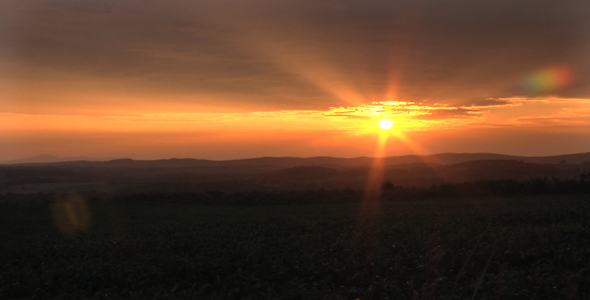 Country Timelapse sunset - VideoHive Item for Sale