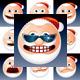Santa Claus Icons - GraphicRiver Item for Sale