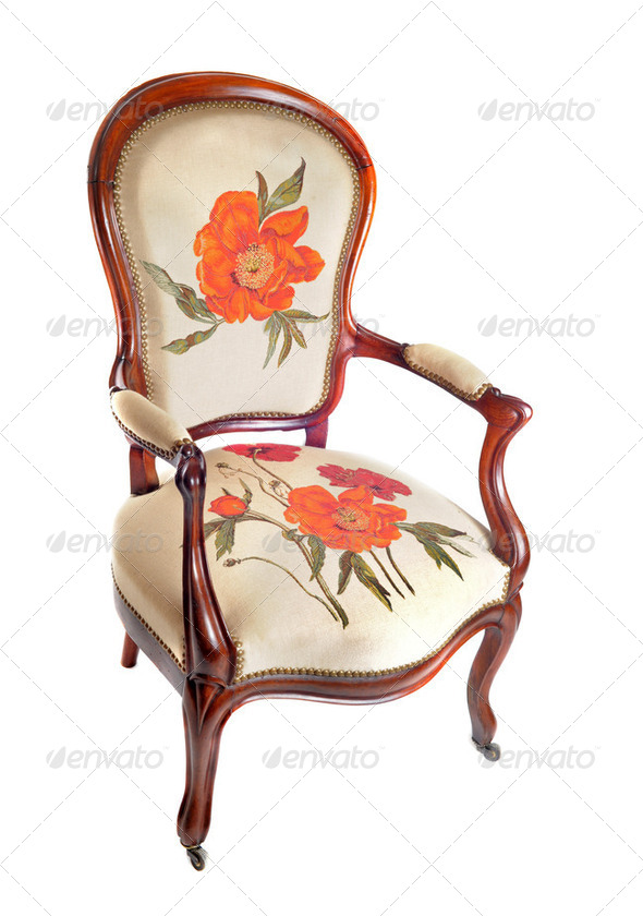 antique chair - Stock Photo - Images