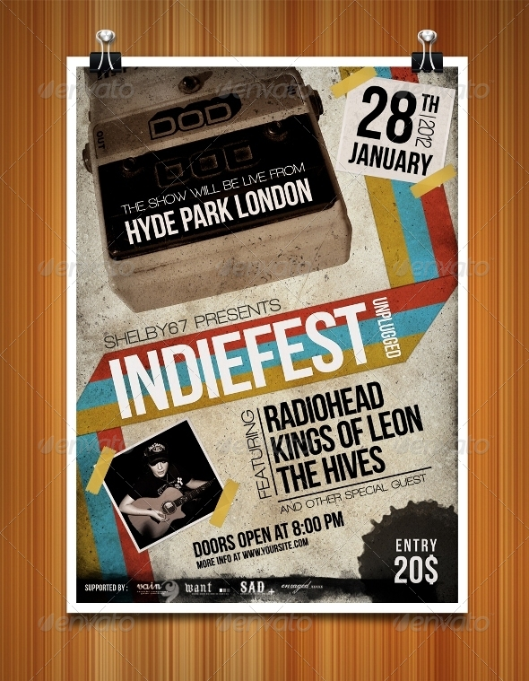 Indiefest Flyer/Poster