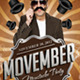 Movember Fyer - GraphicRiver Item for Sale