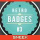 Retro Vintage Badges #3 - GraphicRiver Item for Sale