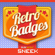 8 Retro Vintage badges - GraphicRiver Item for Sale