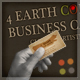 4 Earth Color Business Card – Clean & Artistic - GraphicRiver Item for Sale
