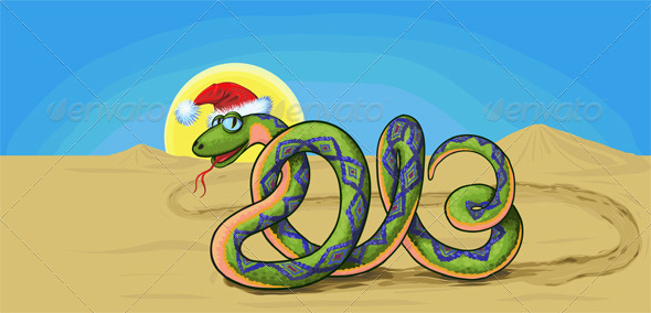 snake symbol New Year - New Year Seasons/Holidays