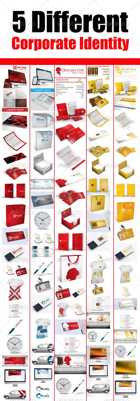 Corporate Bundle V2 - Corporate Business Cards