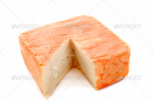 Maroilles cheese - Stock Photo - Images