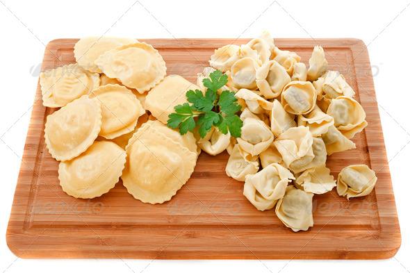 ravioli and tortellini - Stock Photo - Images