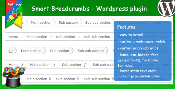 Smart Breadcrumbs - Wordpress Plugin - CodeCanyon Item for Sale