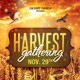 Harvest Gathering Church Flyer & Mailer Template - GraphicRiver Item for Sale