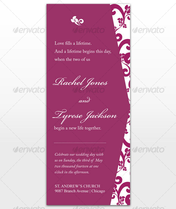 Passion Wedding Card - Weddings Cards & Invites