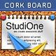 FB Cork Board Fun