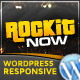 Rockit Now - Music Band Wordpress Theme - ThemeForest Item for Sale
