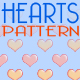 Heart Pattern Set - GraphicRiver Item for Sale