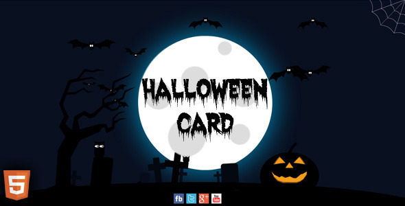 Halloween Card - CodeCanyon Item for Sale