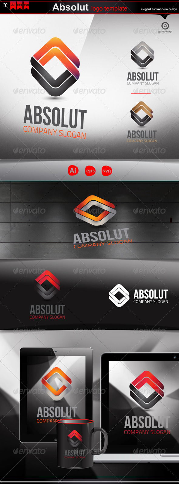 Absolut - Logo Templates