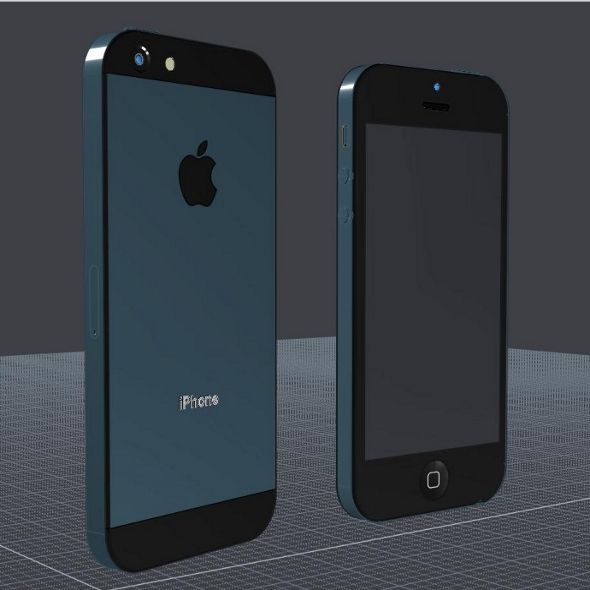 Iphone 5 cad model - 3DOcean Item for Sale