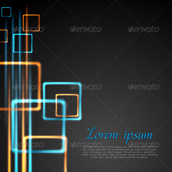 Abstract technology design. Vector - Backgrounds Decorative