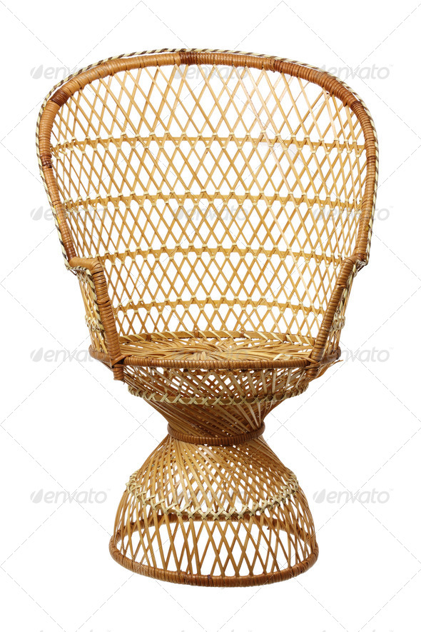 Wicker Chair - Stock Photo - Images