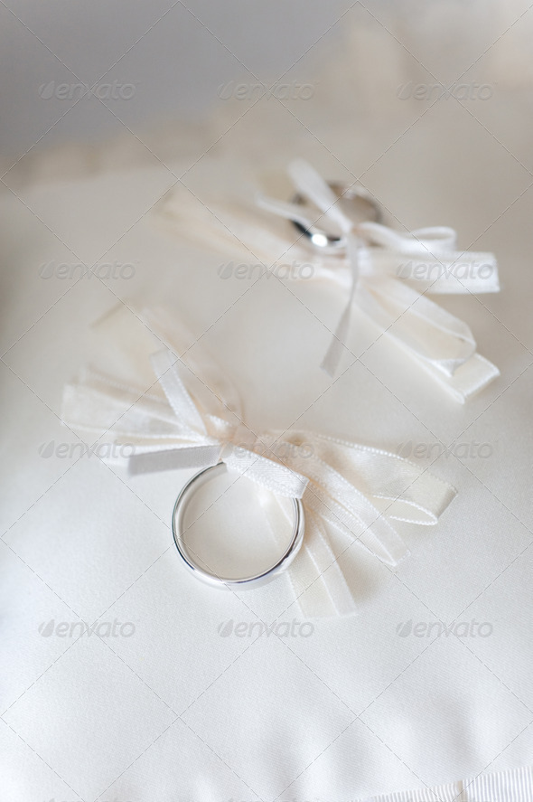 Wedding rings - Stock Photo - Images