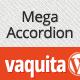Vaquita - Mega Accordion Widget - CodeCanyon Item for Sale