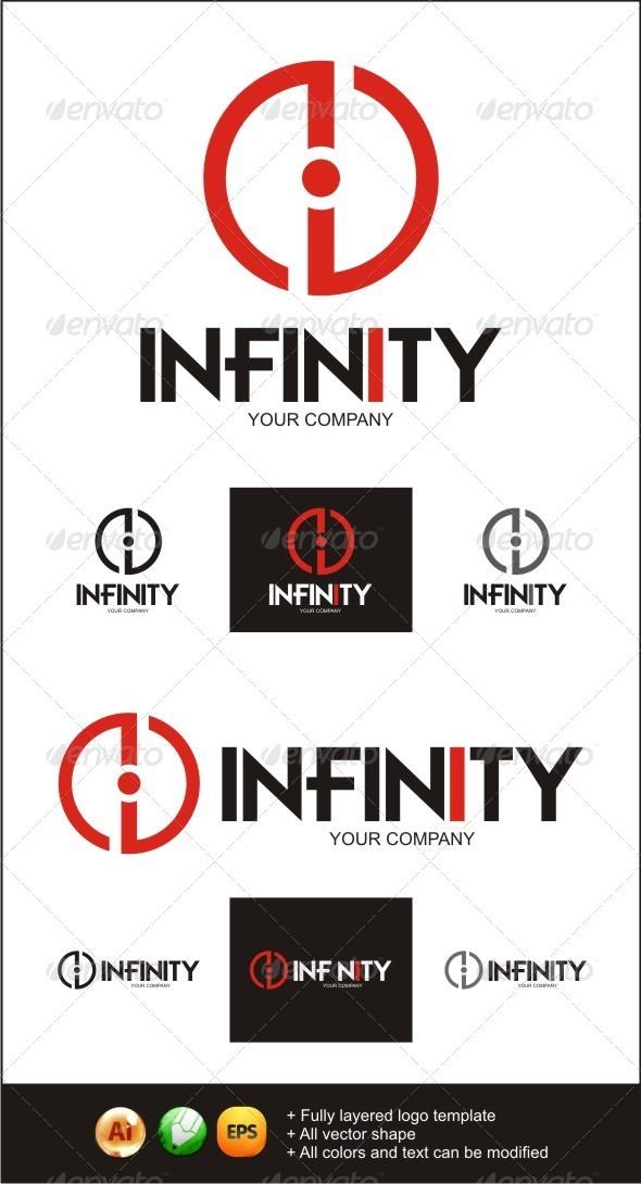 Infinity i POWER Logo - Symbols Logo Templates