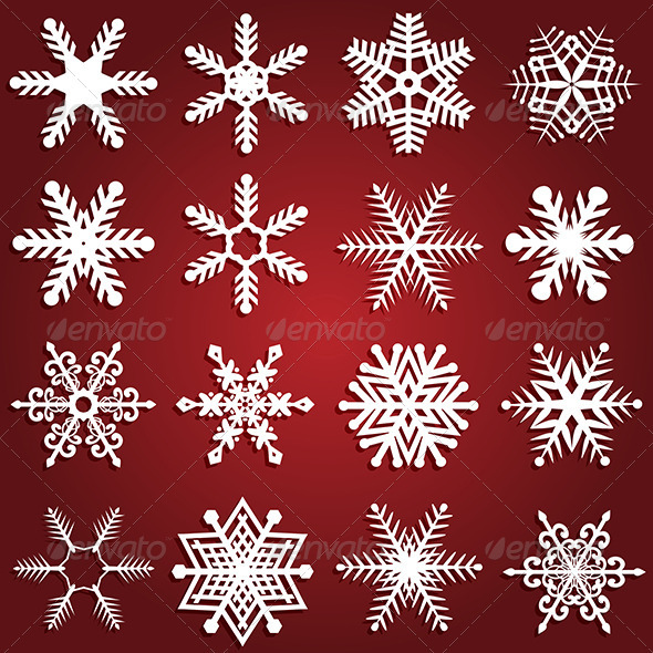 Snowflake designs - Christmas Seasons/Holidays