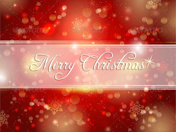Decorative Christmas background - Christmas Seasons/Holidays
