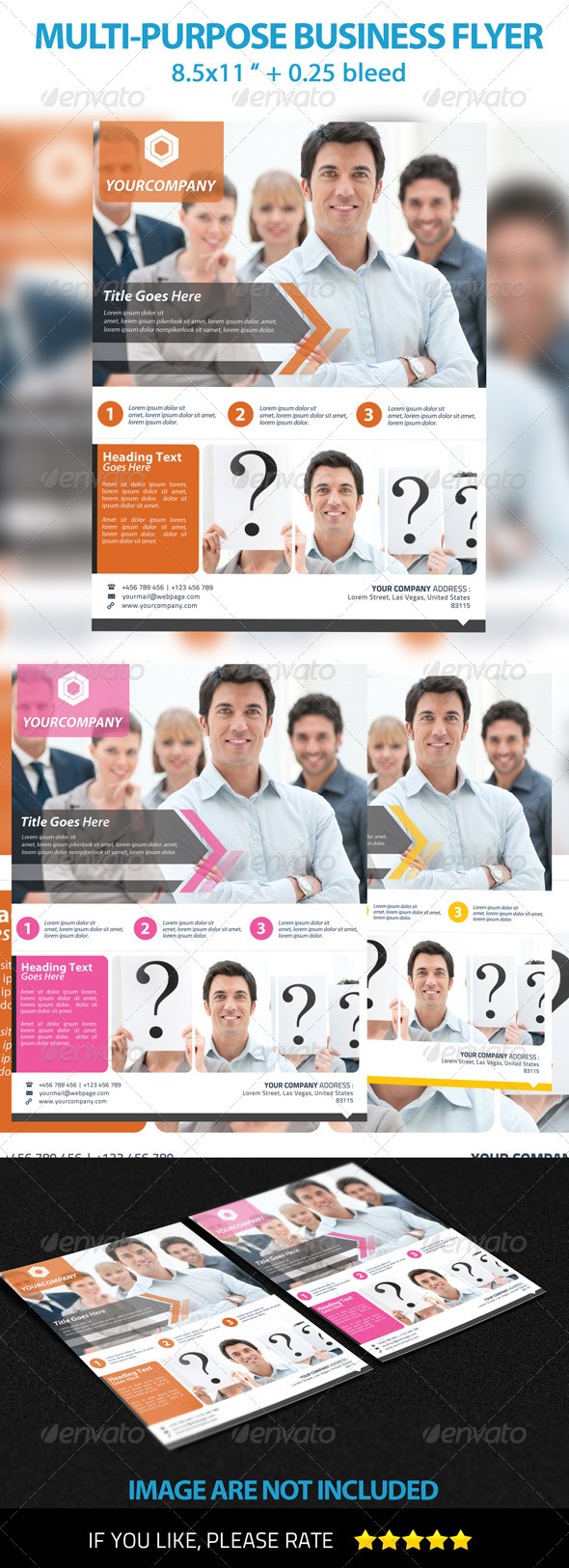 Multi-Purpose Business Flyer Template 2 - Commerce Flyers