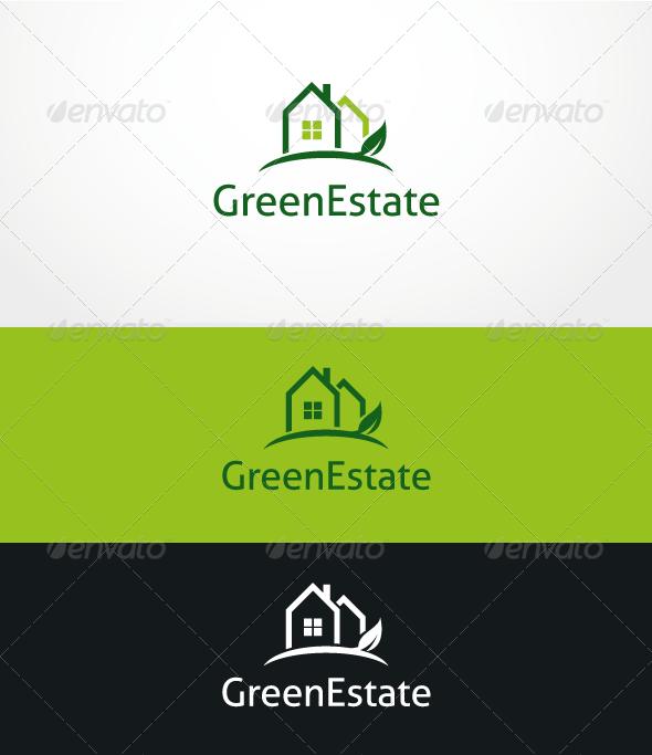 GreenEstate - Logo Template - Buildings Logo Templates
