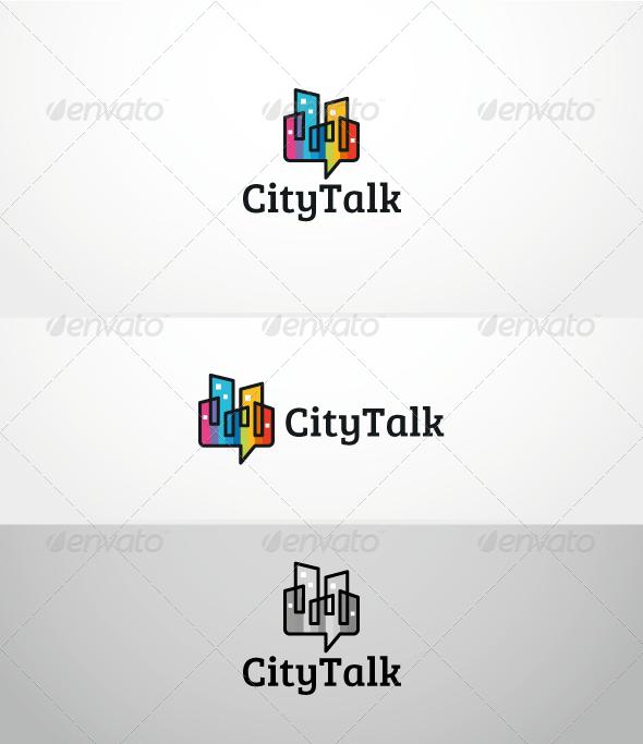CityTalk - Logo Template - Symbols Logo Templates